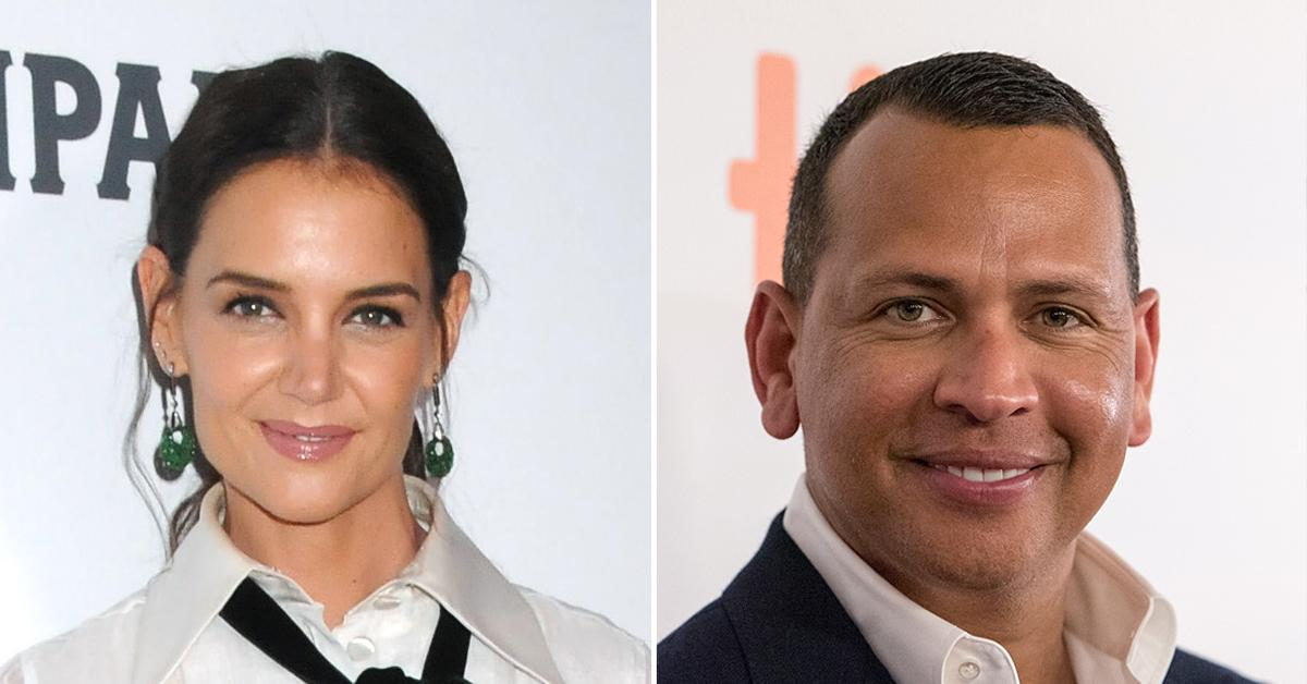 katie holmes alex rodriguez not dating she doesnt even know him