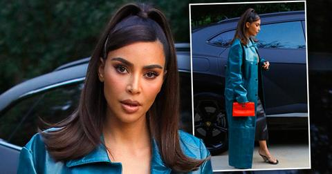 Kim Kardashian Leaving Meeting In LA