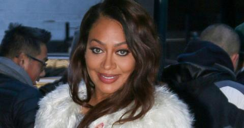 *EXCLUSIVE* La La Anthony looks effortlessly chic as she supports the Knicks **USA ONLY**