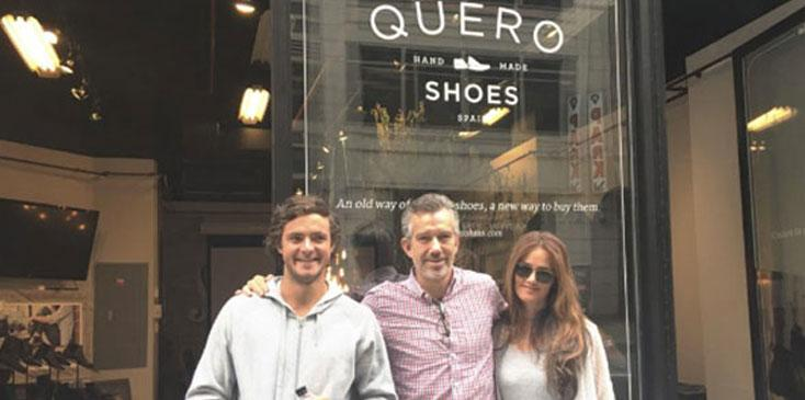Quero shoes pop up shop returns to nyc at refinery hotel wide