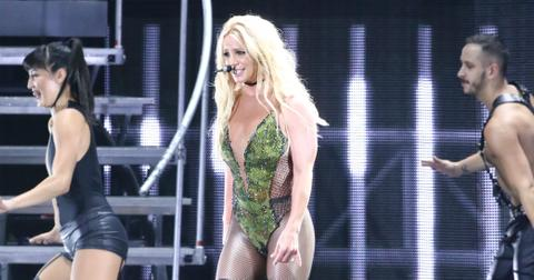 Britney Spears Returns Vegas Perform After Mass Shooting Instagram hero