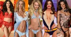 Victoria secret models most naked moments