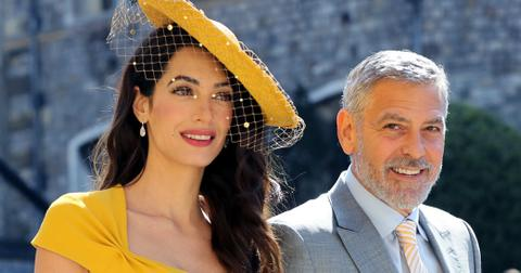 Amal george clooney sell motorbike accident ok pp
