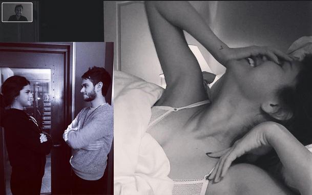 Selena Gomezs In-Bed Selfie Is the Most Effortlessly