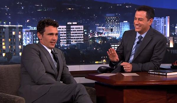 James Franco and Jimmy Kimmel