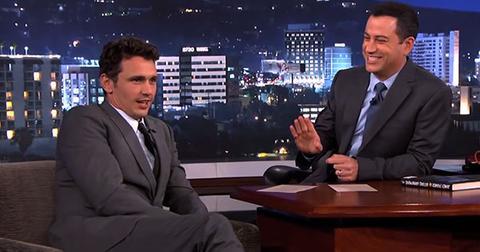 James Franco and Jimmy Kimmel