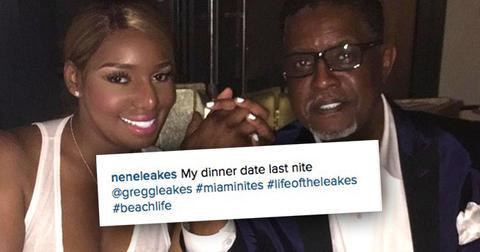 NeNe Leakes Gregg Leakes RHOA Raise Date Night