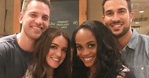 Rachel Lindsay Raven Gates Adam Gottschalk Bryan Abosolo Never Friends Again Feud