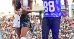 Ariana Grande and Big Sean perform in Los Angeles