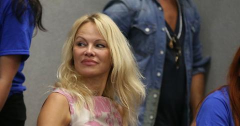Pamela Anderson at Comic Con London