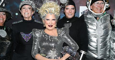 Bette midler new york restoration project hulaween pics