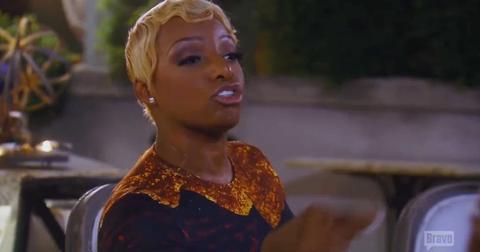 "NeNe Leakes Calls Claudia Jordan ""Half Breed"""