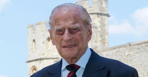 prince philip returns king edward vii hospital palace hid health scare