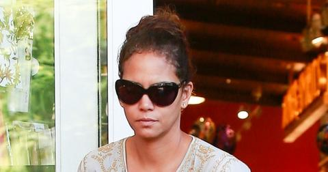 Halle Berry Pumpkin Picking Showing Legs Photos hero