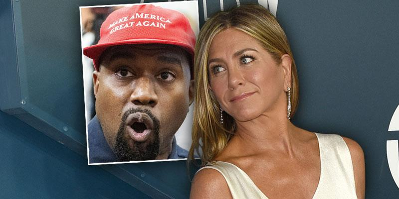 Jennifer Aniston Slams Vote For Kanye Wst