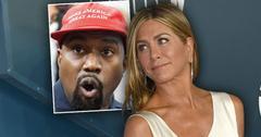 Jennifer Aniston Slams Vote For Kanye Wst