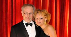 Steven Spielberg With Daughter Mikaela At Award Show