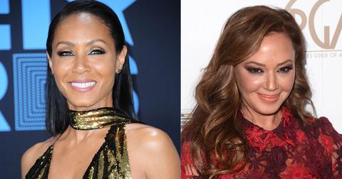 Jada Pinket Smith Leah Remini feud