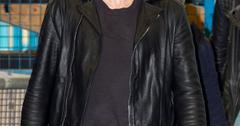 James Franco leaving the ITV studios, London