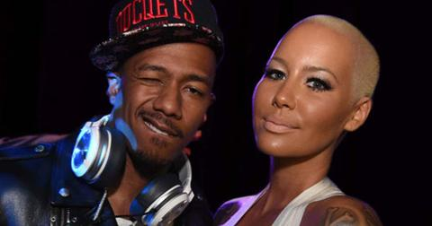 Amber rose nick cannon