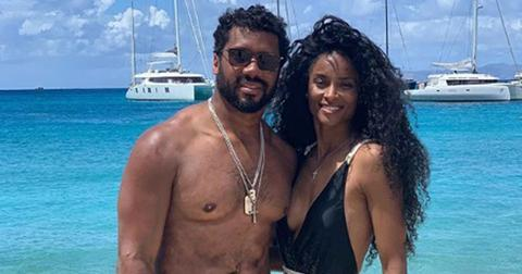 Ciara Russell Wilson St Barts PP