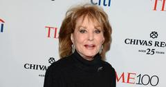 Barbara Walters] Spends Lonely 91st Birthday 'Alone'