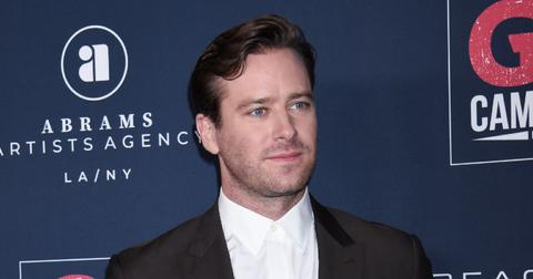Armie Hammer at Go Campaign