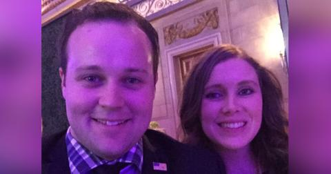 Josh duggar back on camera for the first time since sex scandal hero