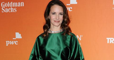 Kristin Davis Red Carpet Worried Raising Black Kids