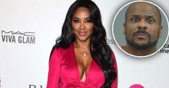 kenya moore ex arrested
