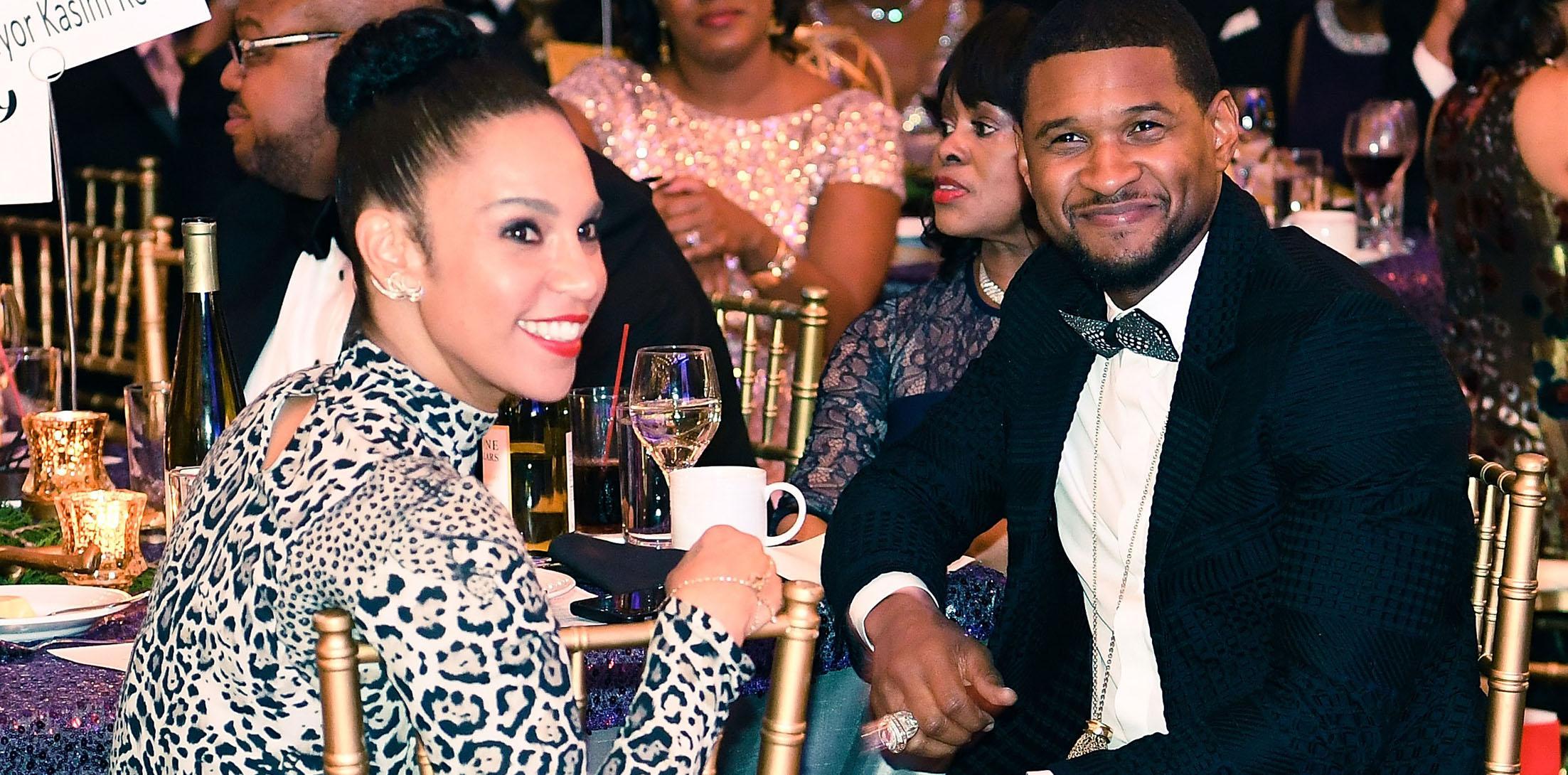 Usher raymond wife herpes