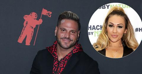 Ronnie Ortiz-Magro On Red Carpet Jen Harley Inset