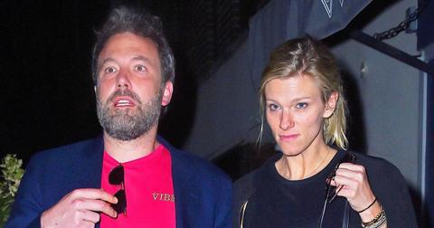 """Ben Affleck and Lindsay Shookus get late night dinner at the """"Mas Farmhouse"""" in the West Village"""
