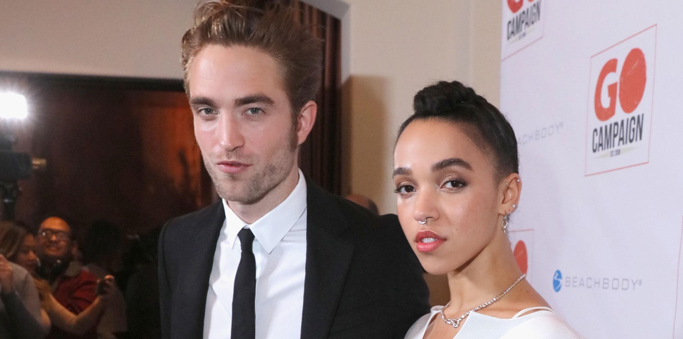 Robert Pattinson FKA Twigs Engaged Long