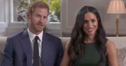 meghan markle prince harry first tv interview engaged long