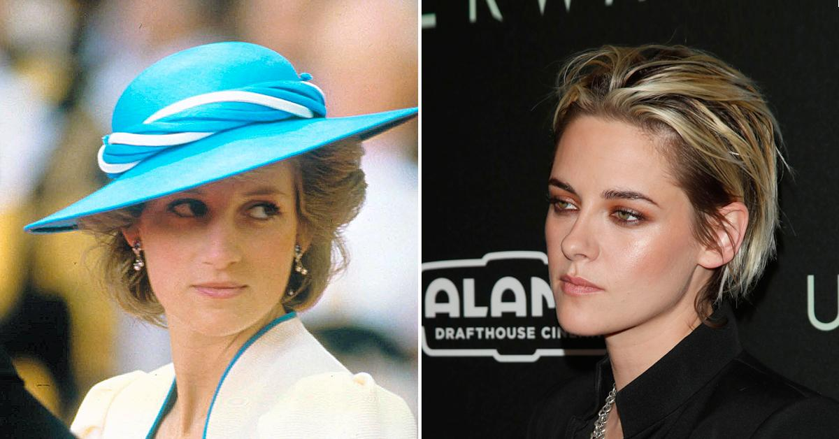 Kristen Stewart Dazzles As Princess Diana In New Film 'Spencer' — See The Uncanny Resemblance