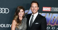 Katherine Schwarzenegger and Chris Pratt on the red carpet