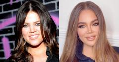 khloe kardashian face transformation plastic surgery experts photo pf