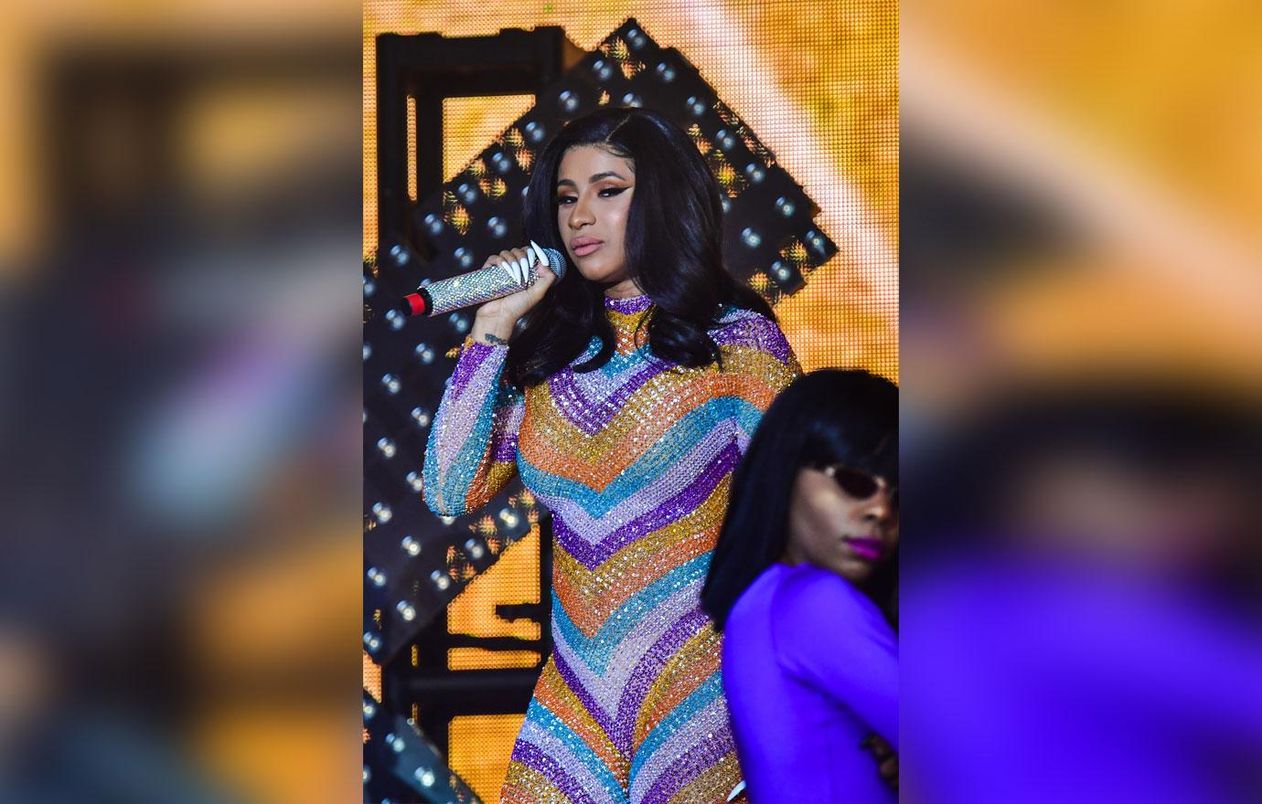 Cardi B and Offset share steamy kisses at Billboard Music