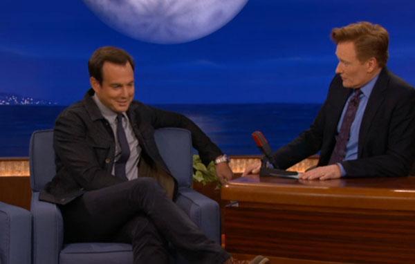 Will Arnett on Conan
