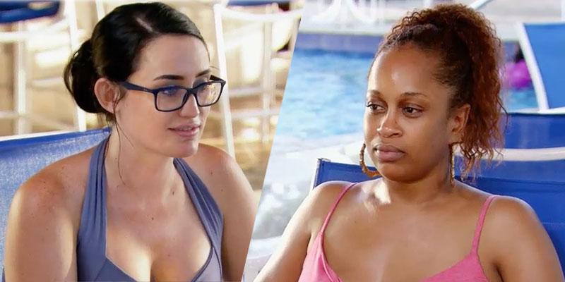 Mafs honeymoon island kimber shannon sister tense meeting video pp