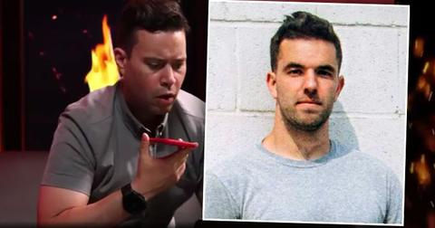 Podcast Host Jordan Harbinger with Inset of Billy McFarland in Federal Prison