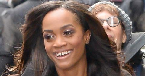 "Rachel Lindsay leaves ""Good Morning America"" with a smile"