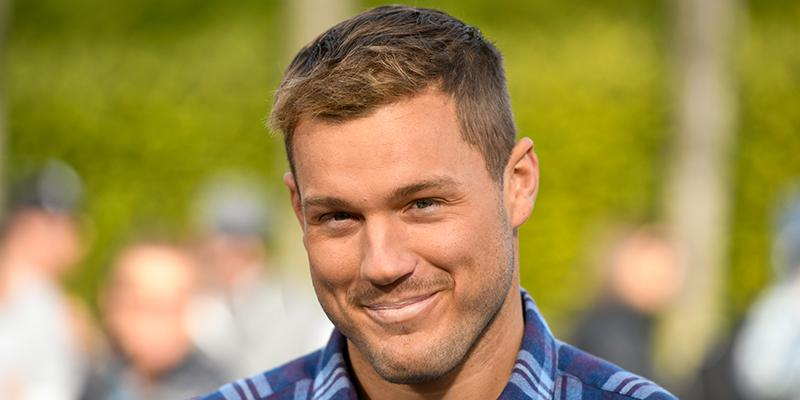 "UNIVERSAL CITY, CALIFORNIA - JANUARY 08: Colton Underwood visits ""Extra"" at Universal Studios Hollywood on January 08, 2019 in Universal City, California. (Photo by Noel Vasquez/Getty Images)"