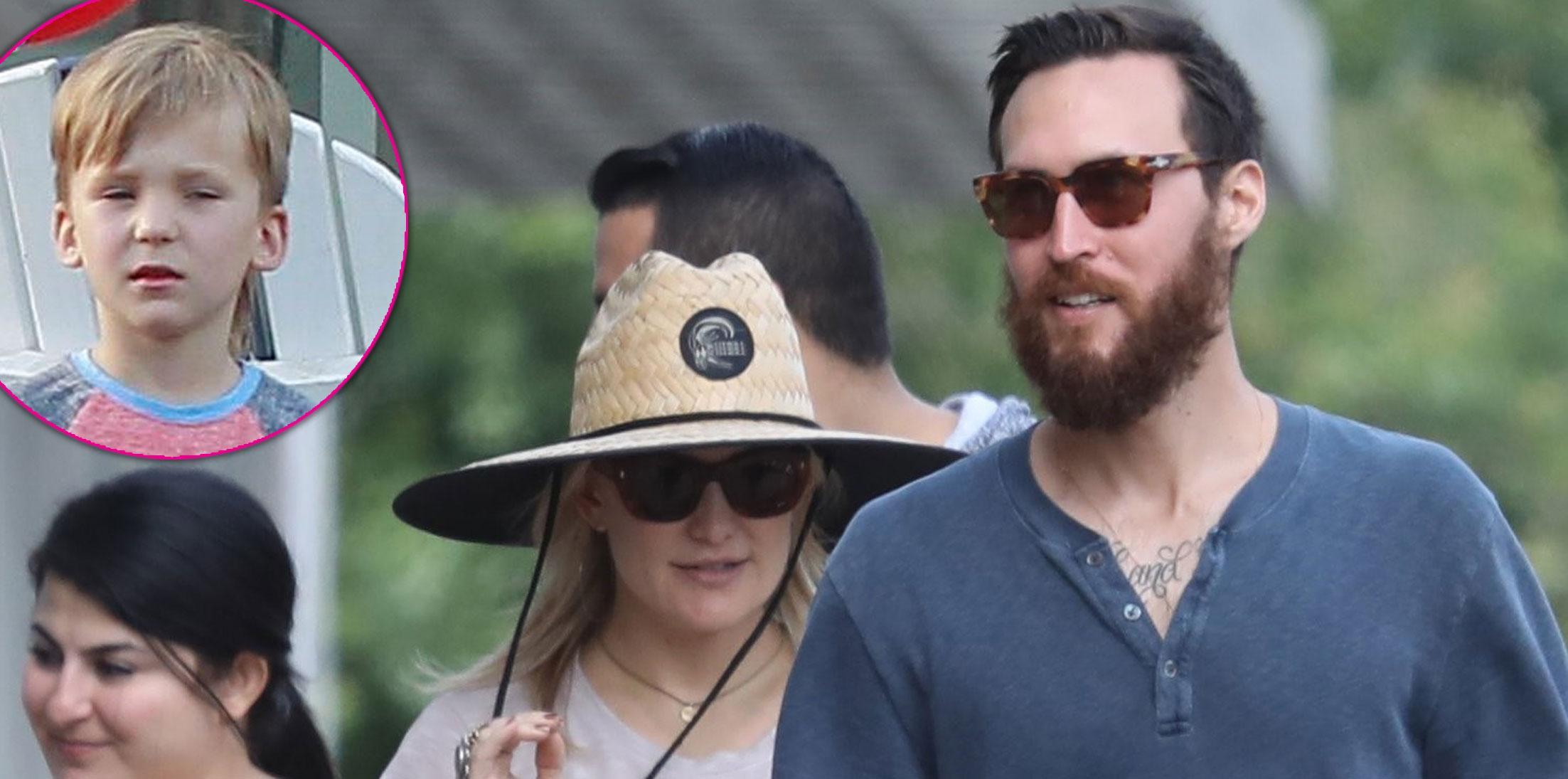 Kate Hudson Boyfriend Danny Fujikawa Son Bingham Photos Long