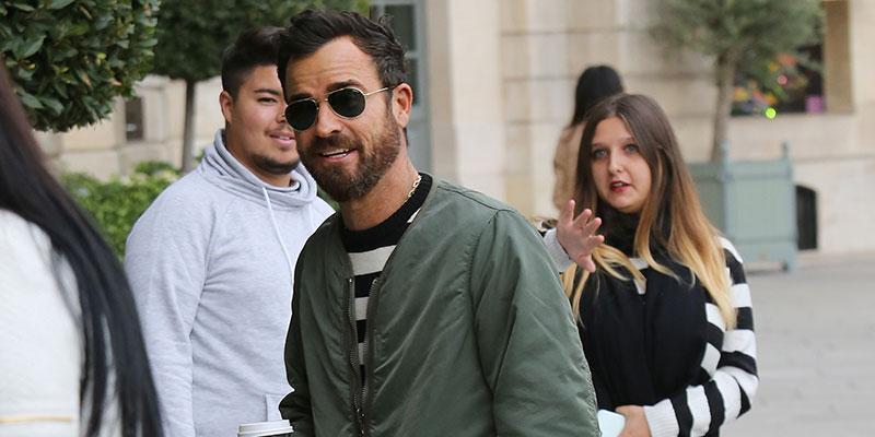 Justin theroux paris heartbreaking jennifer aniston split main