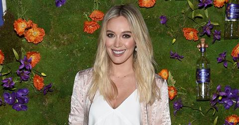 Hilary duff drank placenta smoothie after giving birth pp