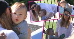 Jessica Biel Post Baby Body Son Silas Park