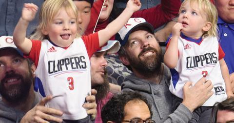 Jason Sudeikis Son Otis Basketball Game