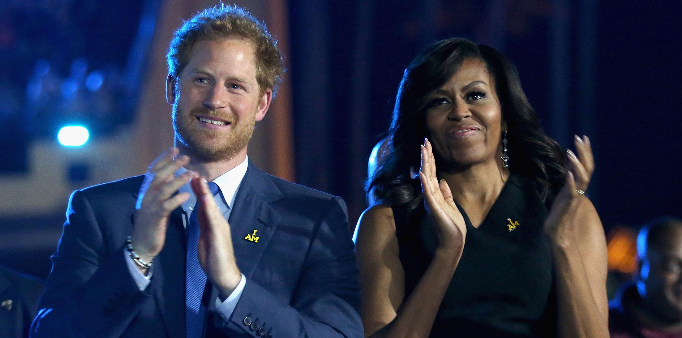 Prince harry michelle obama chicago wide